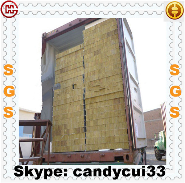 Fire Rated Sandwich Panel Rockwool Mineralwool Wall