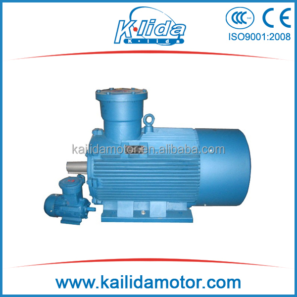 High quality YB2 explosion-proof B5 mounted electrical motor