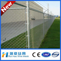 China wholesale galvanized & PVC coated chain link fence,chain link fence extensions