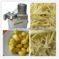 Electric Potato Chips Cutter Machine Potato Peeler and Cutter