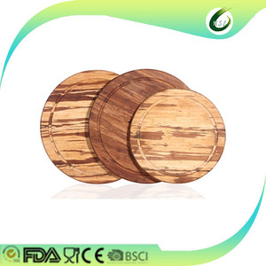 custom round wood blocks wholesale