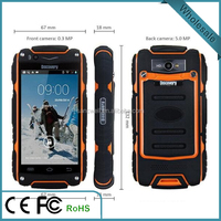 2016 New product 3.5 inch Original Discovery V5 Rugged Android Smart Phone Shockproof Dustproof