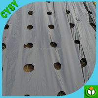 Professional manufacturer uv treated perforated black plastic agricultural mulch film