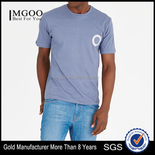 MGOO Hot Sale Clothes Cheap Price Men T Shirt Quick Dry T-shirt With Chest And Back Print