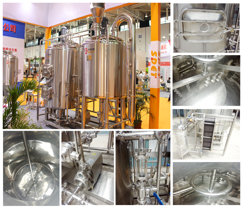 Small micro brewery equipment beer Fermener 500L