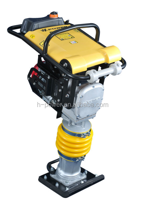 Dynapac gasoline robin honda power earth sand soil wacker impact jumping jack multiquip compactor Tamping Rammer RM80H