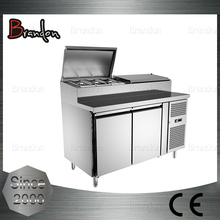 Brandon elegant looking food class sandwich counter with electric chiller