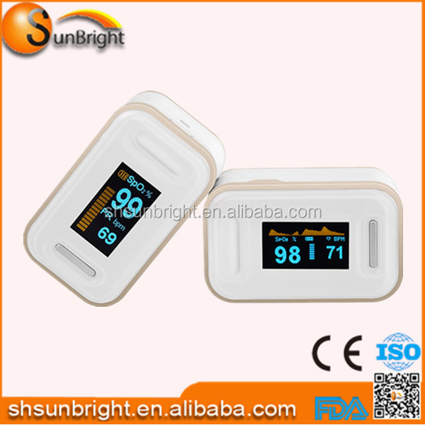 Best selling hearlth care CE FDA approved finger pulse oximeter with beep sound alarm