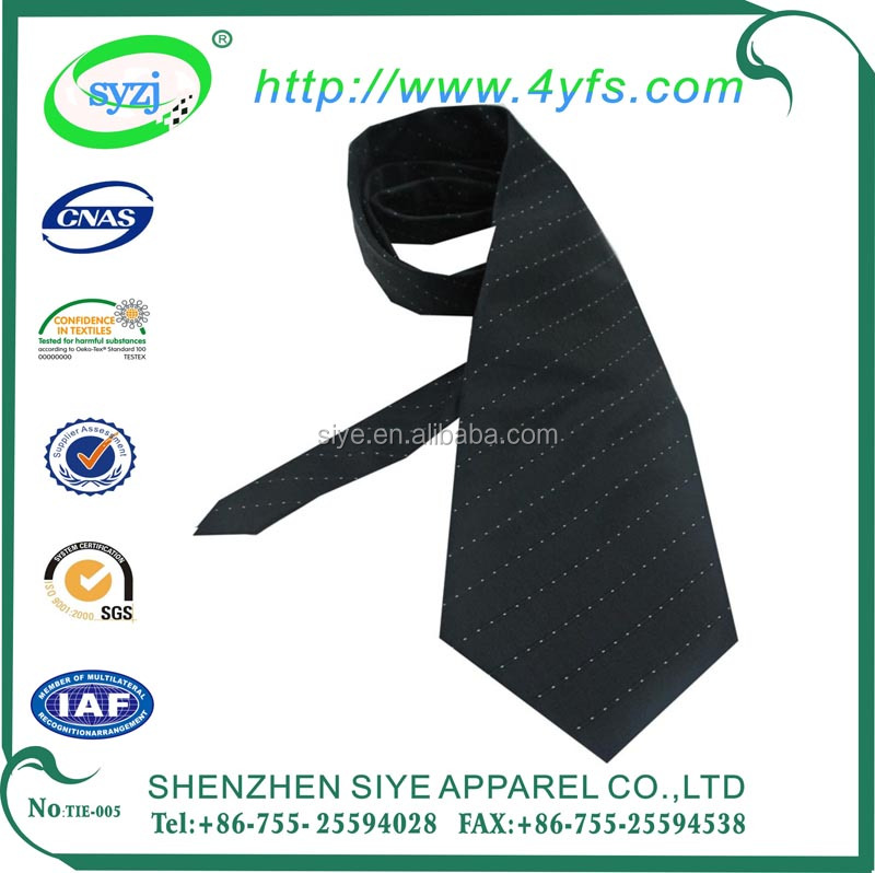 Custom Solid color 100% silk mens ties for wholesale