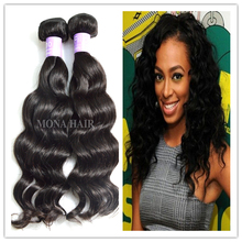 High quality nature girl hair weave extensions raw filipino hair weaves