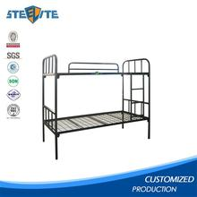 New style stylish high iron bed designs simple design iron bed low bunk bed