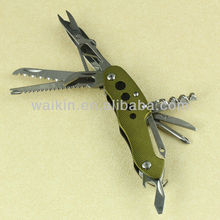 "3.62"" Multi-Tool 11 Function Stainless Steel Pocket Knife"