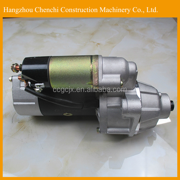 Engine 6D16 starter motor for SK350-6