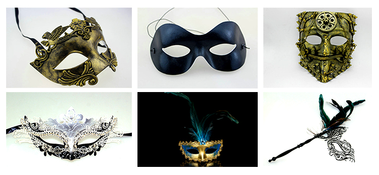 Vendetta PVC party mask for costume