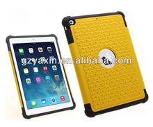 2014 Sparkling 3 in 1 Bling Case For ipad Air Shockproof Smart Case,for ipad air shockproof case