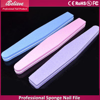2016 cheap sponge crystal nail file acrylic nail files