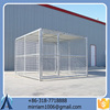 Large outdoor strong hot sale strong powder coating dog kennel/pet house/dog cage/run/carrier