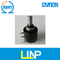 22HP-10 10k linear potentiometer with rotary switch