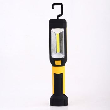 HENGBO-2017 3W COB work light with hook Portable strong magnet dry battery operated