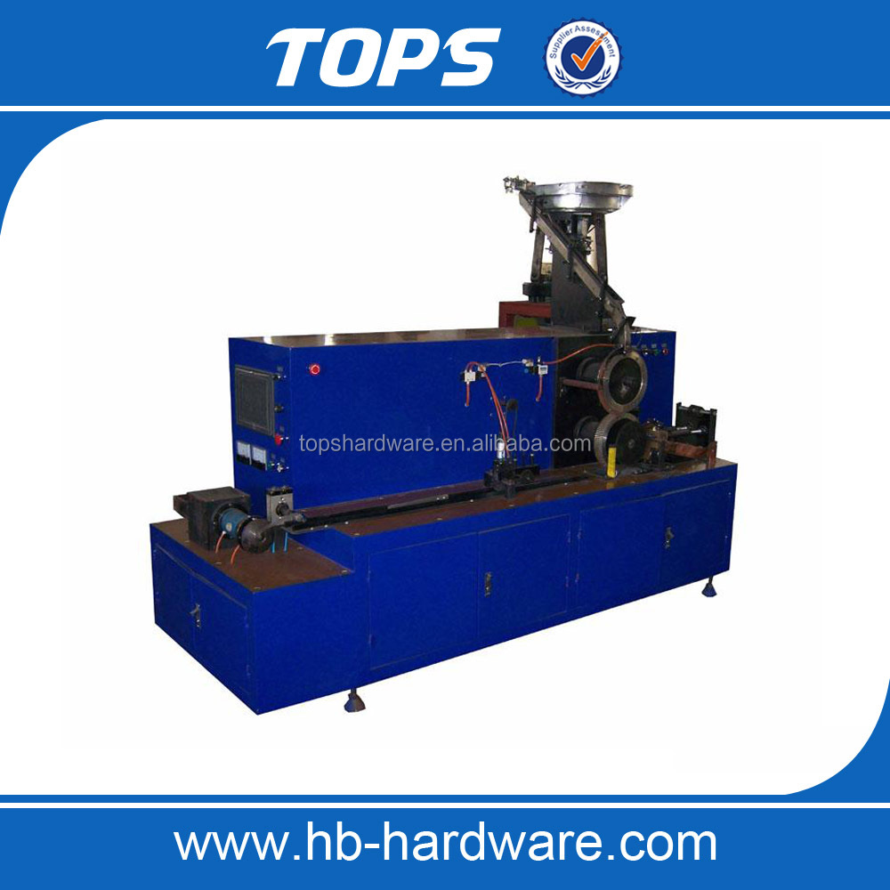 China coil nails making machine/ screw thread rolling forming machine for sale