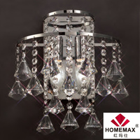 2 light decorative crystal wall light for hotel project