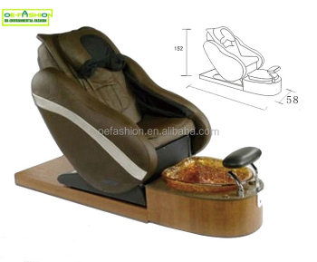 OE-FASHION luxury Beauty nail salon equipment footbath spa pedicure chair for sale in china