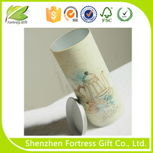 Customized twisted push up kraft paper gift tube