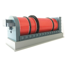 slurry dryer sludge dehydrator 3 phase drying rotary drum dryer's price