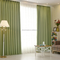 Latest home decorative hotel string blackout curtain