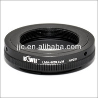 Kiwifotos Lens Mount Adapter for LEICA M39 Screw Mount Lens For Canon EOS EF-M Camera Mount Adapter