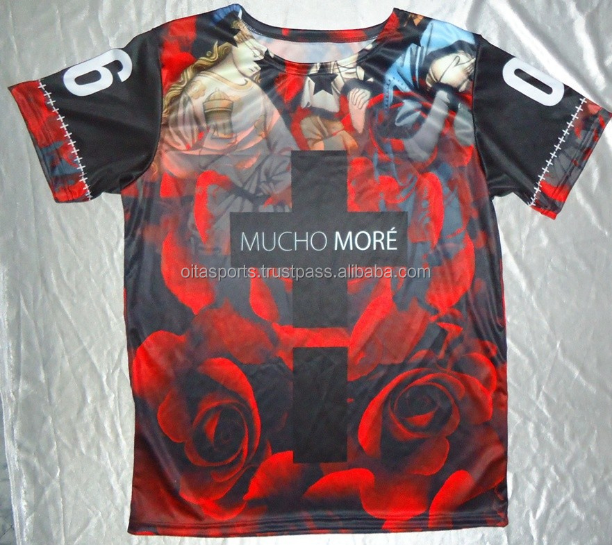 Mimaki Plotter sublimated printed t-shirts