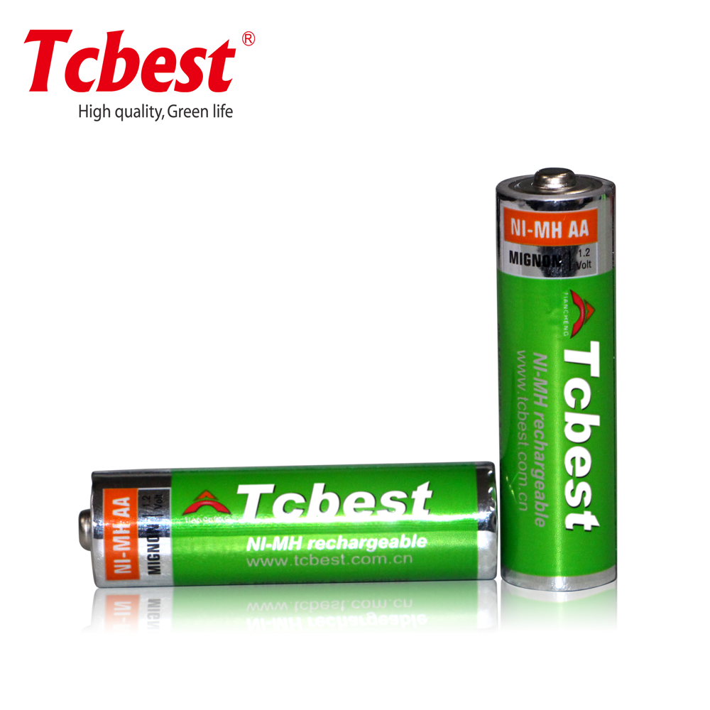 AA2600A ni-mh size aa 2600mah 1.2 voltage rechargeable battery can be OEM