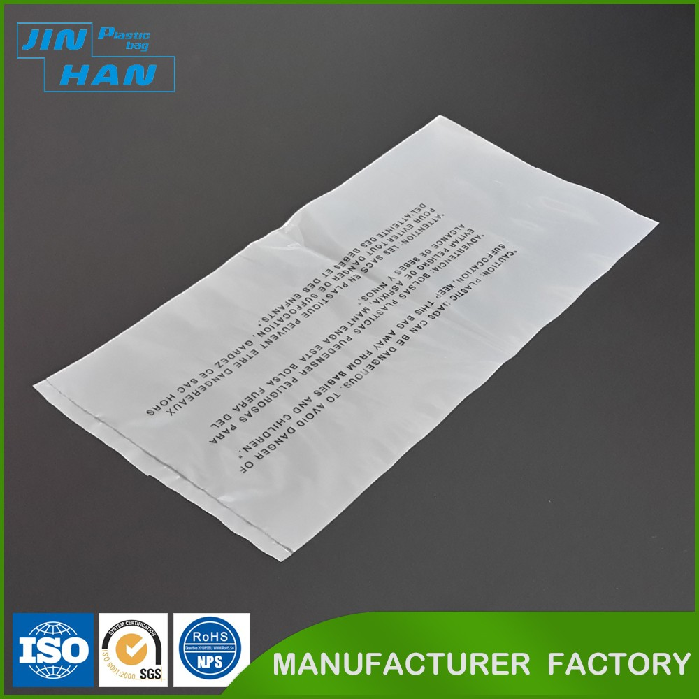 Biodegradable Plastic Recyclable Printed Clear Plastic Bag for Packing