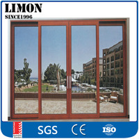 Cheap air tight aluminium profile interior triple sliding doors for sale