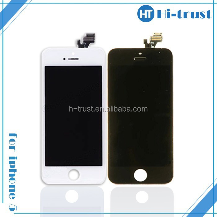 DHL Free shipping Lowest price and Original NEW/OEM Replacement for iphone 5 lcd screen