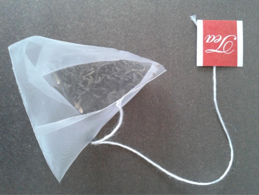 how to make pyramid tea bags