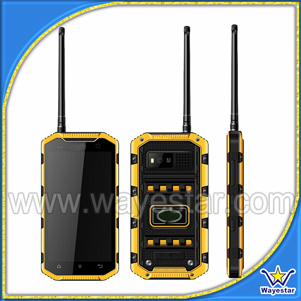 Military grade cell phone ip68 rugged mobile phone gps wifi