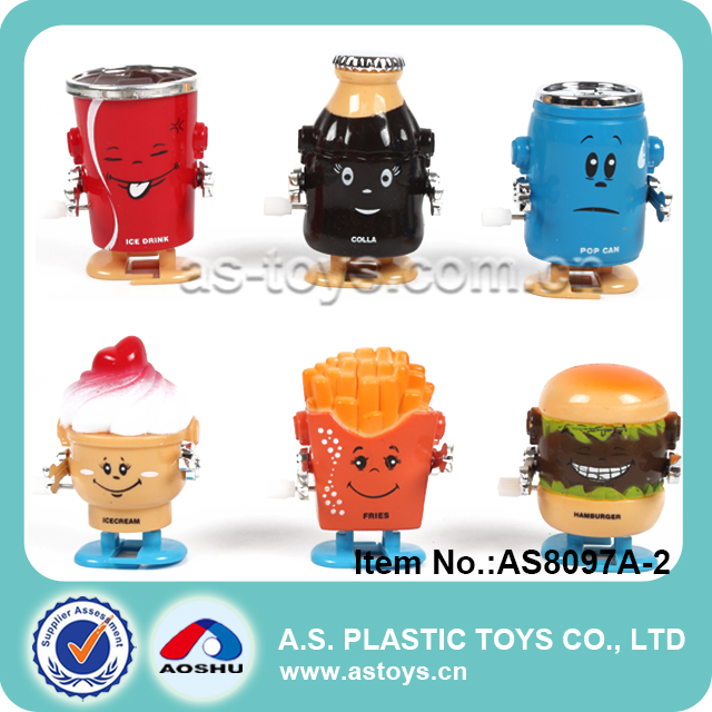 Novelty & Newest baby mini fast food toys French fires/hamburg/drink wind up toys
