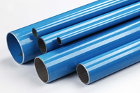 high quality Durable plastic coated aluminum pipes tubes, air compressor spare parts