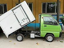 Low Price AC Motor Electric Cargo Van With EEC