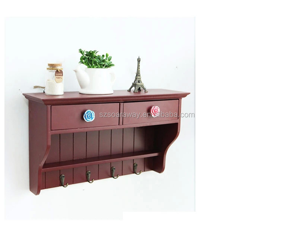 2015 Creative Wooden Storage Box For Home Wall Hanging,Storage Box ...