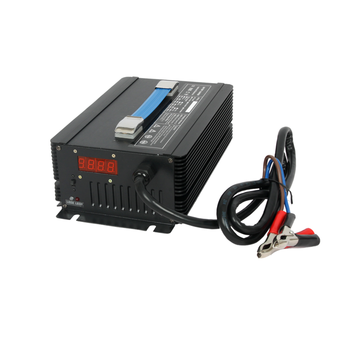 High frequency and high efficiency 42v lithium ion electric car battery charger