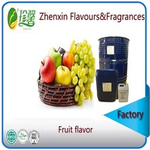 liquid and pure food grade mixed fruit flavour and fragrance, artificial mixed fruit essence flavor
