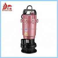 WQD electric trash pump electric water lifting pump