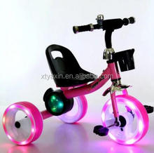 Baby Tricycle, Kids Tricycle with Music and Light 3 wheel tricycle ride on toys for kids