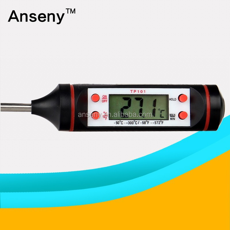 2017 New Design Digital Food Beef Cooking Probe Thermometer