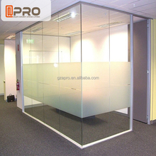 Office divider glass design office cubicles glass