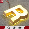 Custom 3d signage acrylic mini led sign front & backlit channel letters