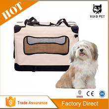 Fabric Portable Folding Pet Bag House Kennel Soft Crate Carrier Cage
