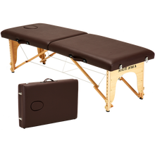 Portable salon beauty bed solid wood Massage Table for spa table de massage